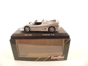 【送料無料】模型車 モデルカー スポーツカー フェラーリdetail cars art395  ferrari f50 1995 cabrio  en bote boxed