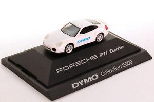 【送料無料】模型車 モデルカー スポーツカー ポルシェターボタイプコレクション187 porsche 911 turbo typ 996 wei white dymocollection 2009
