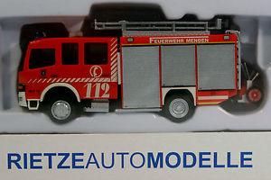 【送料無料】模型車 モデルカー スポーツカー メルセデスアテーゴrietze mercedes atego schlingmann feuerwehr menden 60721