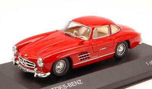 【送料無料】模型車 モデルカー スポーツカー メルセデスクーペモデルmercedes 300 sl coupe w198 1955 red 143 model wb010 whitebox