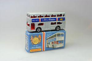 【送料無料】模型車 モデルカー スポーツカー ロンドンジュビリーバスマッチmb 17 b the londoner jubilee bus von matchbox  in ovp 1970 er jahre *****