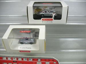 【送料無料】模型車 モデルカー スポーツカー ポルシェニュルブルクリンクab850,5 2x wiking h0 pkwmodelle 167 porsche 799 nrburgring, neuwovp