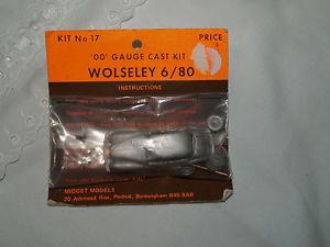 【送料無料】模型車 モデルカー スポーツカー モデルホワイトメタルキットホスケールmidget models no17 wolseley 680 white metal kit ooho scale