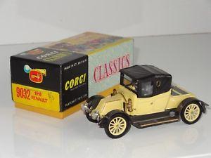 【送料無料】模型車 モデルカー スポーツカー ルノーc corgi classics 1910 renault 9032
