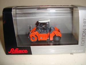 【送料無料】模型車 モデルカー スポーツカー ロードローラーオレンジグレーschuco 187  452580900 hamm hd 110 road roller orangegrey  boxed
