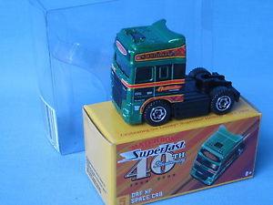 【送料無料】模型車 モデルカー スポーツカー マッチスペースキャブグリーンモデルmatchbox daf xf space cab green convoy toy model 60mm boxed 40th