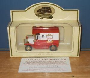 【送料無料】模型車 モデルカー スポーツカー ボードモデルフォードヴァンリバプールフットボールクラブlledo days gone dg6 lp6457 model t ford van liverpool football club centenary