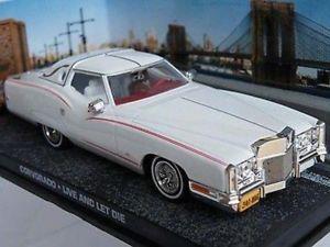 【送料無料】模型車 モデルカー スポーツカー ジェームスボンドコルボライブミントボックスモデルロジャームーア#james bond corvorado live and let die car mint boxed model roger moore k8967q~~