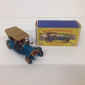 【送料無料】模型車 モデルカー スポーツカー ヴィンテージマッチモデルトーマスneues angebotlesney matchbox vintage 1967 models of yesteryear boxed 1909 thomas flyabout y12