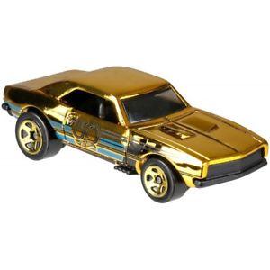 【送料無料】模型車 モデルカー スポーツカー ホットホイールブラックゴールドカマロゴールドモデル