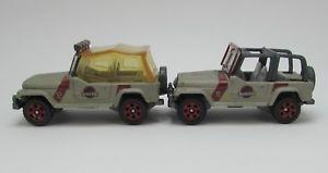 【送料無料】模型車 モデルカー スポーツカー マッチジュラシックパークレガシーコレクションジープ#2x matchbox jurassic park legacy collection 93 jeep wranglers 1218 rare