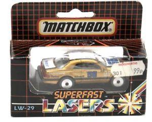 【送料無料】模型車 モデルカー スポーツカー マッチフォードサンダーバードクーペゴールドボックスシールドミントmatchbox lw29 ford thunderbird coupe gold box sealed mint