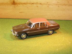 【送料無料】模型車 モデルカー スポーツカー ローバーブラジリアスケールブラウンvanguards va06519 rover p6 3500 35 v8 vip in brasilia brown 143rd scale