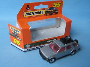 【送料無料】模型車 モデルカー スポーツカー マッチボクソールオペルフロンテーラロデオシルバーボディモデルカーボックスmatchbox vauxhall opel frontera rodeo silver body toy model car boxed 75mm