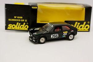 【送料無料】模型車 モデルカー スポーツカー solido 143 vw scirocco gr; 2 1059solido 143 vw scirocco gr2 1059
