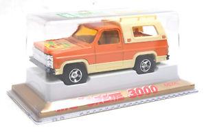 【送料無料】模型車 モデルカー スポーツカー フランスシリーズシボレーブレザーオレンジmajorette france serie 3000 4x4 chevy blazer orange 3015 * mib *