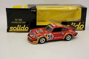 【送料無料】模型車 モデルカー スポーツカー ポルシェルマンsolido 143 porsche 911 934 meccarillos le mans 1977