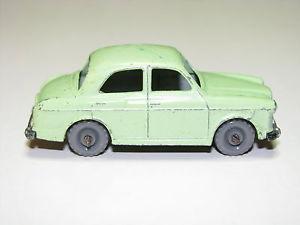 【送料無料】模型車 モデルカー スポーツカー マッチ#ウォールドイングランドmatchbox lesney 57a woldeley 1500 vgc made in england