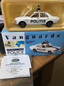 【送料無料】模型車 モデルカー スポーツカー フォードグアテマラneues angebotvanguards va05508 ford consul 3000gt stad antwerp politie