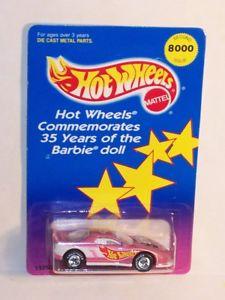 【送料無料】模型車 モデルカー スポーツカー ホットホイールマテルバービーカマロリアルライダーhot wheels mattel 1994 real riders barbie 35th anniversary camaro moc