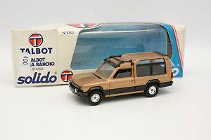 【送料無料】模型車 モデルカー スポーツカー ベージュメタルsolido 143 talbot matra rancho 1062 beige mtal