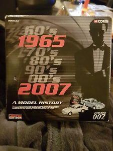 【送料無料】模型車 モデルカー スポーツカー コーギージェームズボンドミントcorgi james bond 196507 set in tin mint condition