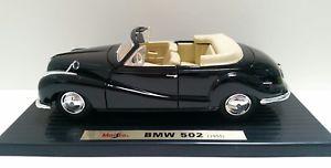 【送料無料】模型車 モデルカー スポーツカー ァーneues angebot118 maisto 1955 bmw 502
