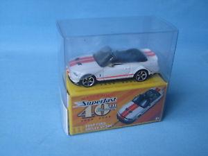 【送料無料】模型車 モデルカー スポーツカー マッチフォードシェルビーモデルボックスmatchbox ford mustnag shelby gt500 toy model muscle car 70mm long boxed 40th