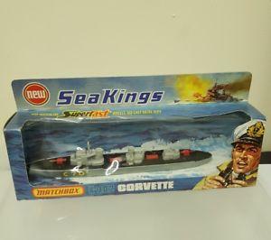 【送料無料】模型車 モデルカー スポーツカー マッチコルベットmatchbox sea kings k302 corvette