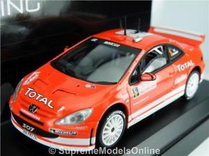【送料無料】模型車 モデルカー スポーツカー プジョーラリーモデルカースケールpeugeot 307 wrc 2004 rally model car 143 scale solido 1589 gronholm k8q