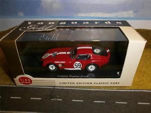 【送料無料】模型車 モデルカー スポーツカー コブラデイトナクーペゴールドコレクションvanguards cobra daytona coupe gold collection bnib 143