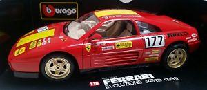 【送料無料】模型車 モデルカー スポーツカー フェラーリ118 burago 1991 ferrari 348tb evoluzione
