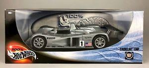 【送料無料】模型車 モデルカー スポーツカー キャデラックボックスコレクタモデルhotwheels 100 cadillac lmp large 118 collectors precision model 29225 boxed