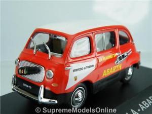 【送料無料】模型車 モデルカー スポーツカー フィアットアバルトスケールモデルカー#fiat 750 multipla abarth model car 1960 143rd scale redwhite issue k8967q~~