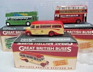 【送料無料】模型車 モデルカー スポーツカー アトラスエディションイギリスバス3 atlas editions great british buses boxed 3416