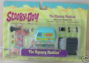 【送料無料】模型車 モデルカー スポーツカー スクービードゥーマシンモデルキットscoobydoo the mystery machine die cast model kit xp