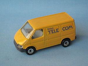 【送料無料】模型車 モデルカー スポーツカー マッチフォードトランジットヴァンブリティッシュテレコムモデルカーmatchbox ford transit van british telecom toy model car 75mm ub rare