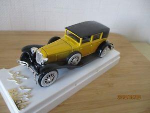 【送料無料】模型車 モデルカー スポーツカー ユニークレアビンテージコードスケールunique and rare vintage golden age solido cord l29 1929 boxed 143 scale