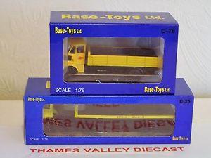 【送料無料】模型車 モデルカー スポーツカー ベースモデルコレクションスケールbase toys bt models, collection of 2 lorries, d25, d78, 176 scale