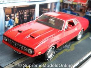 【送料無料】模型車 モデルカー スポーツカー フォードムスタングマッハモデルサイズレッドアメリカアメリカンクーペタイプford mustang mach 1 car model 143rd size red usa american coupe type y0675j^*^