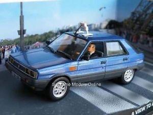【送料無料】模型車 モデルカー スポーツカー ジェームスボンドルノータクシーキルミントロジャームーアビューjames bond renault 11 taxi a view to a kill mint boxed roger moore 143rd