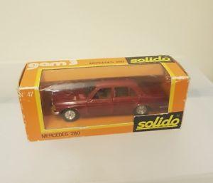 【送料無料】模型車 モデルカー スポーツカー ビンテージメルセデスvintage solido no 47 mercedes 280