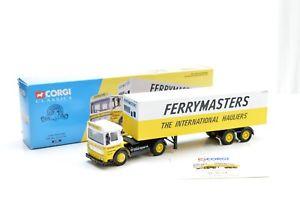 【送料無料】模型車 モデルカー スポーツカー コーギーフェリーマスターボックストレーラーセットcorgi 21301 ferrymaster aec box trailer set