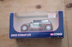 【送料無料】模型車 モデルカー スポーツカー コーギーエディストバートミニクーパーレーシングカーcorgi eddie stobart mini cooper racing car boxed
