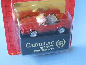 【送料無料】模型車 モデルカー スポーツカー マッチクラスキャデラックチェイスアメリカカブリオレmatchbox world class 33 cadillac allante met red in bp usa cabriolet rare