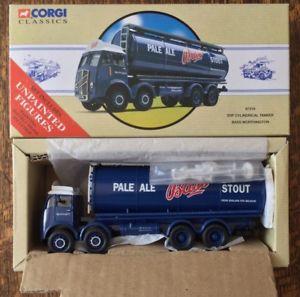 【送料無料】模型車 モデルカー スポーツカー コーギータンカートラックボックスワージントンミントcorgi classics 97319 erf cylindrical tanker lorry bass worthington mint in box