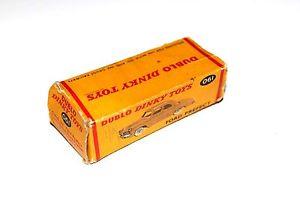 【送料無料】模型車 モデルカー スポーツカー フォード#dinky toys dublo original ford prefect car empty box only 061