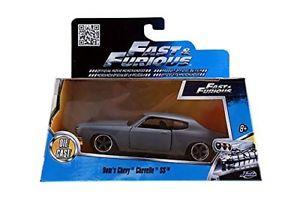 【送料無料】模型車 モデルカー スポーツカー スケールfast and furious 7 jada toys 132 scale diecast doms chevy chevelle ss