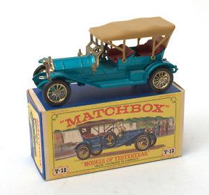 【送料無料】模型車 モデルカー スポーツカー マッチトーマスmatchbox moy y122 1909 thomas flyabout 196775 * mib *