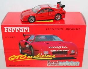 【送料無料】模型車 モデルカー スポーツカー フェラーリjouef 143 300000 ferrari gto evoluzione red